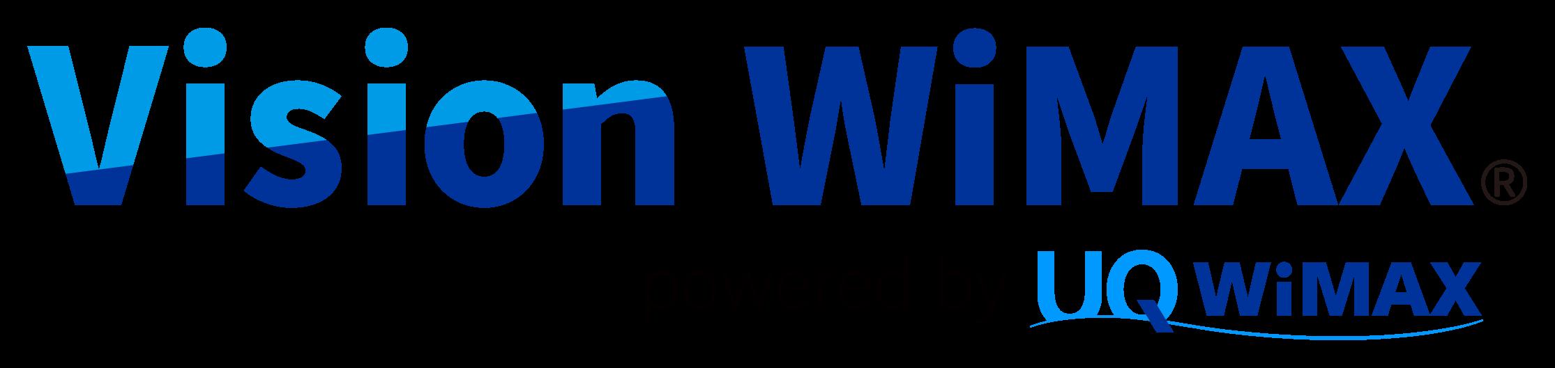 公式】WiMAXならVisionWiMAX   モバイルWiFi